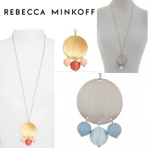 Rebecca Minkoff Disco Ball Statement Necklace
